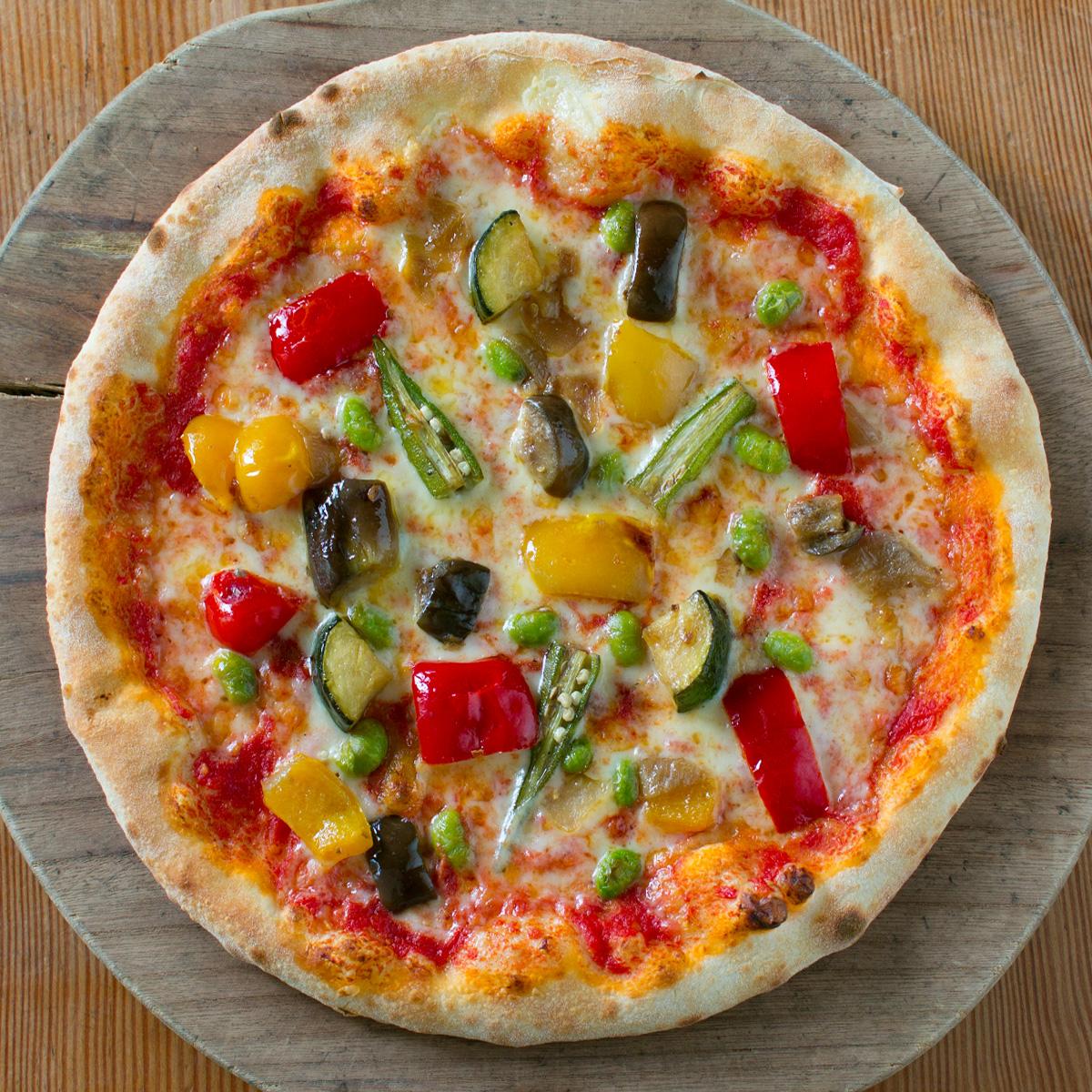 夏野菜のピッツァ0007